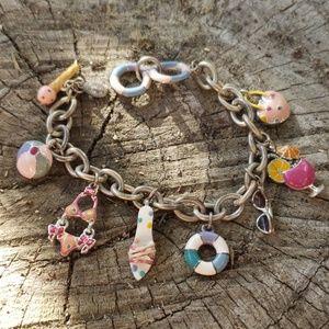 Cookie Lee Retired Sweetie Fashion Charm Bracelet